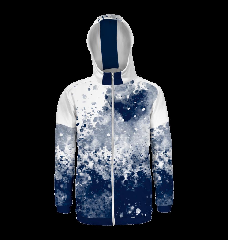 Hoodies und Sweatshirts mit vollflächigem Sublimationsdruck (Allover-Druck)