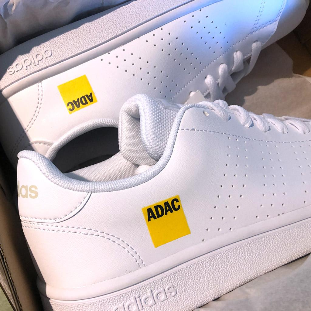 Transferdruck auf Sneaker